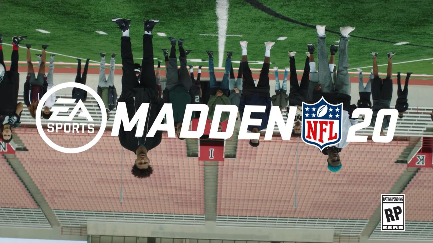 《麦登橄榄球20》官方宣传片公布 马霍姆斯霸气逼人