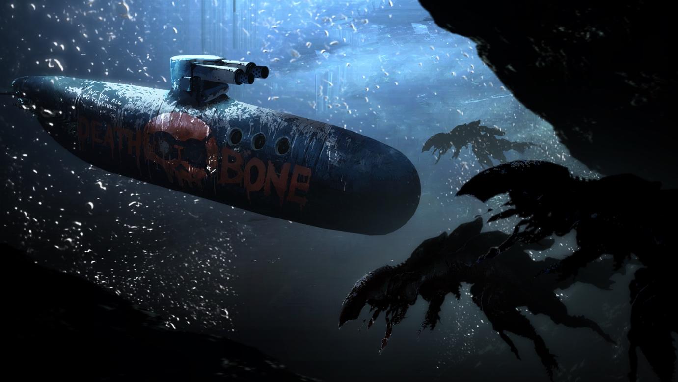 6月5日, 多人科幻模拟潜艇游戏《潜渊症Barotrauma》登陆STEAM抢先体验