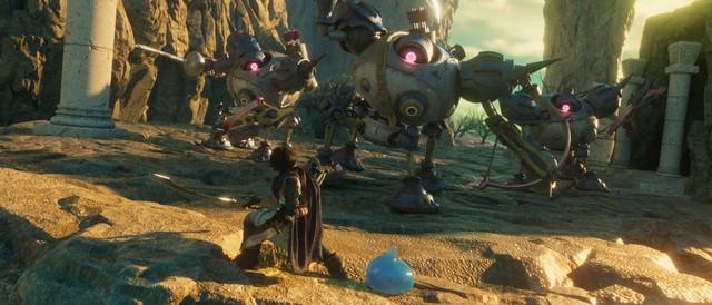 史莱姆伙伴亮相《勇者斗恶龙》全3DCG动画电影新角色公布