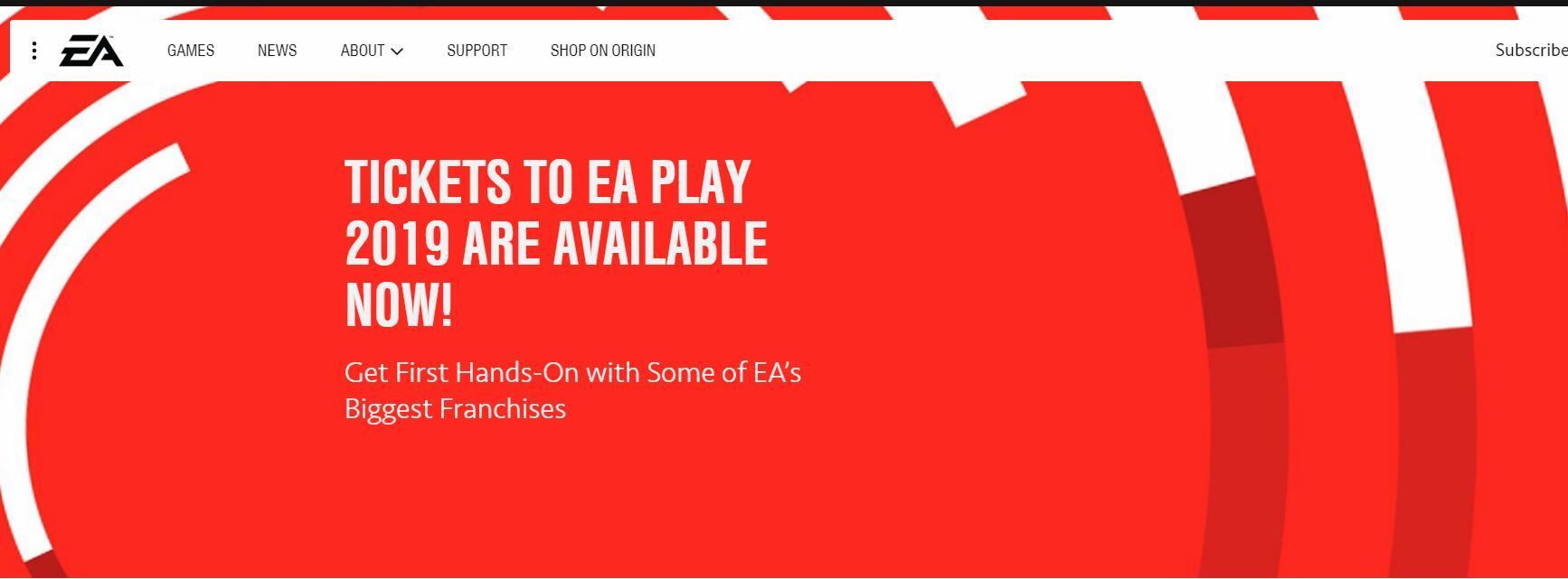 <b>EA压缩EA PLAY的发布流程 一切官方信息扎堆6.8一天</b>