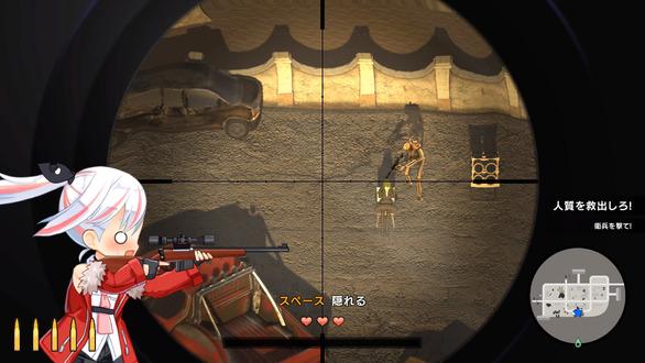 可爱女孩狙击游戏《少女狙击手》Steam专页公开