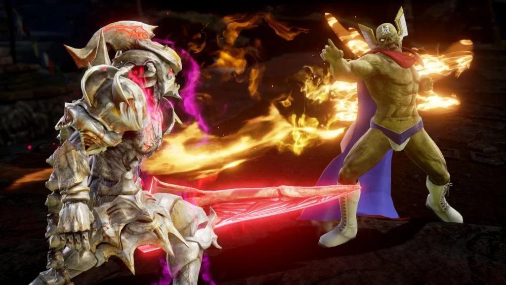 《灵魂能力6》公布新截图 展示DLC和1.40升级内容