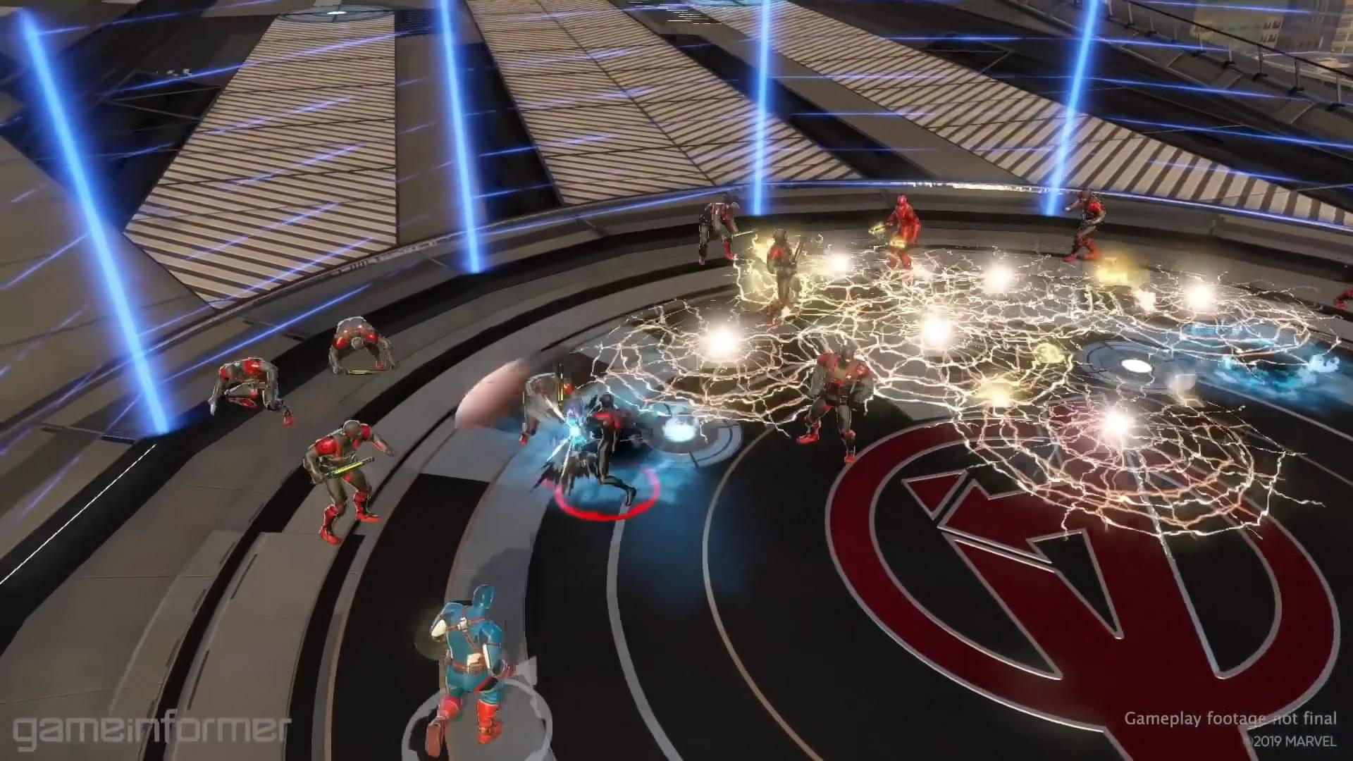 《漫威终极联盟3》蜘蛛侠演示视频 技能华丽招式繁多