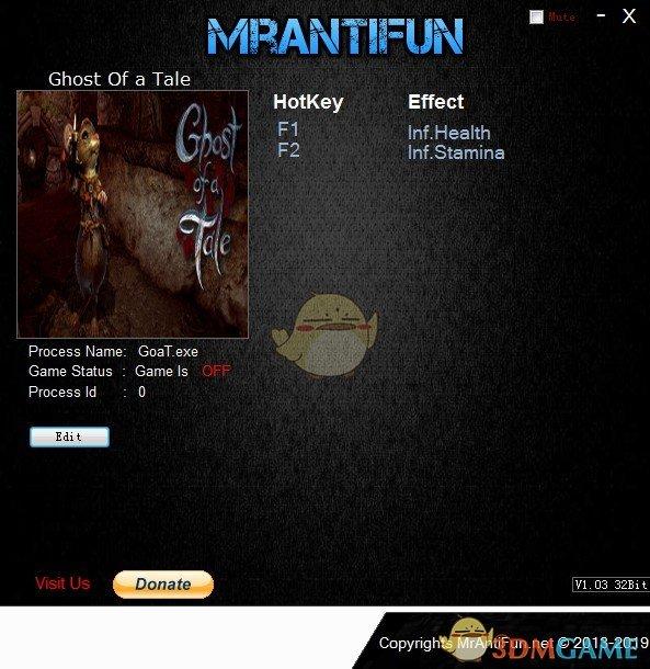 《精灵鼠传说》v8.33无限生命体力修改器[MrAntiFun]