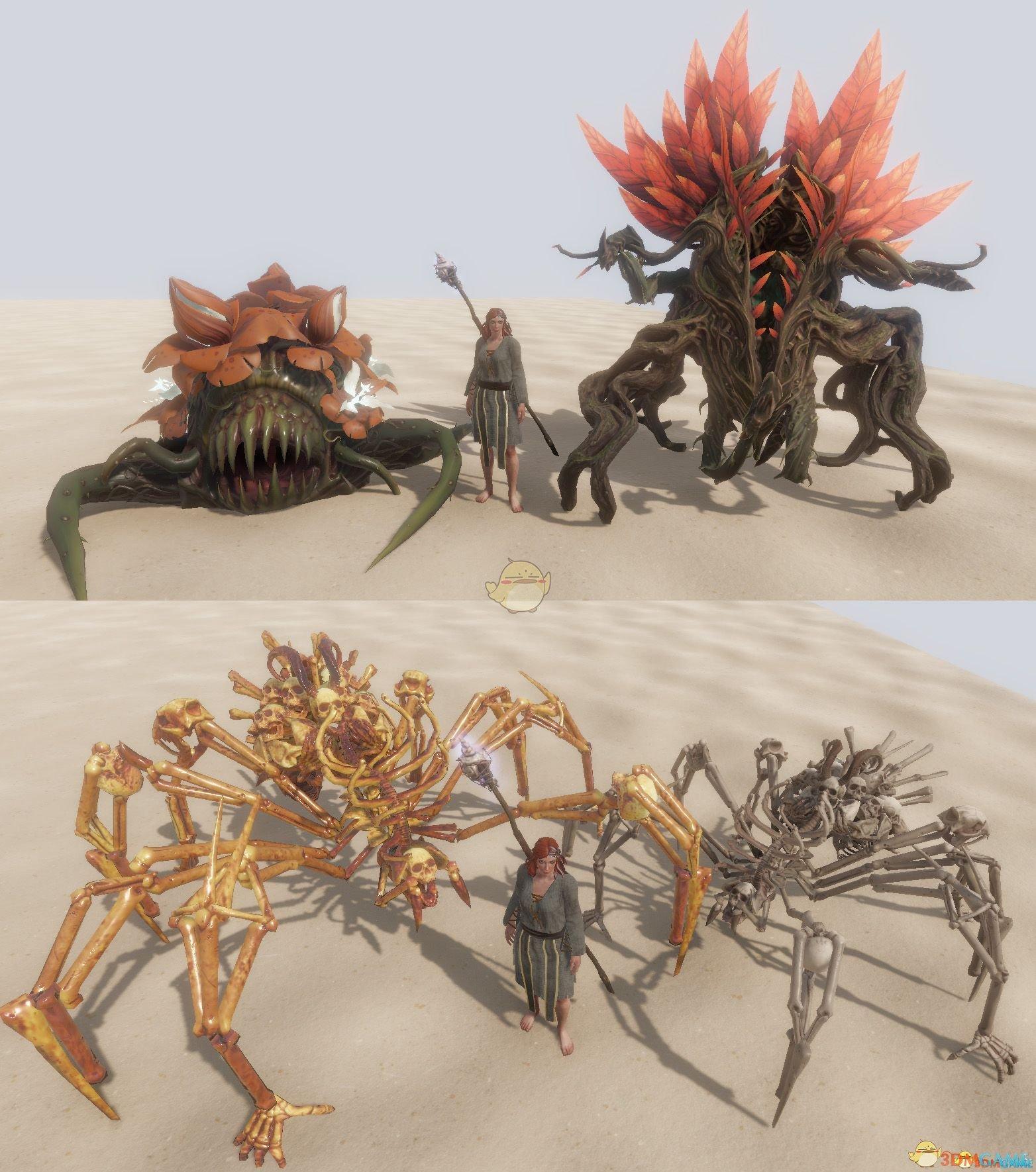 《神界:原罪2》召唤物模型优化MOD