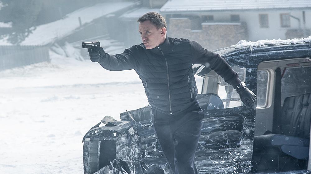 """""""007""""丹尼尔·克雷格受伤 《邦德25》中断拍摄"""
