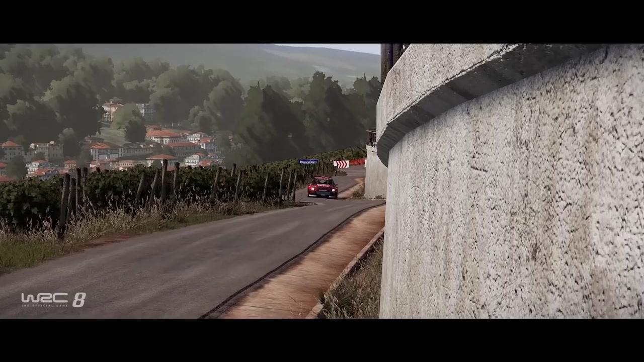 《世界汽车拉力锦标赛8》新实机视频展示预览版