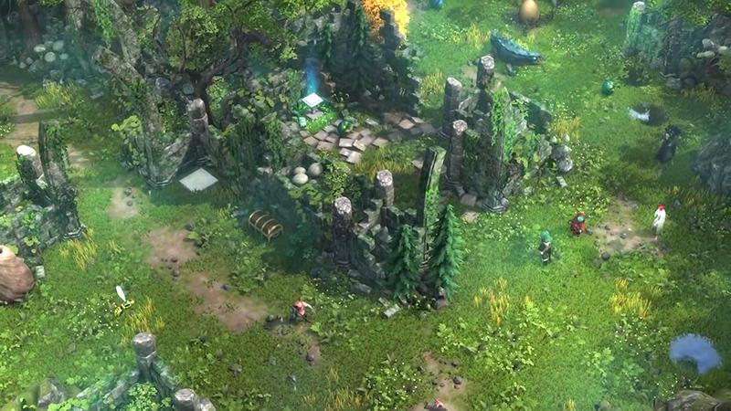 战术RPG《德鲁伊之石》已登陆Steam 冒险与解谜相结合