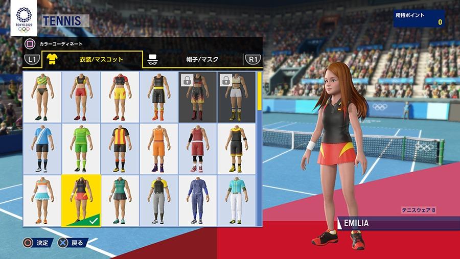 《2020东京奥运会》新截图展示运动员自定义选项