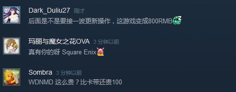 《歧路旅人》PC版定价过于昂贵 引发玩家不满情绪!
