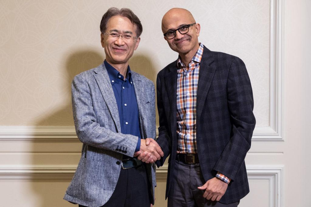 微软与索尼在云游戏方面展开合作 助索尼提供更好游戏体验