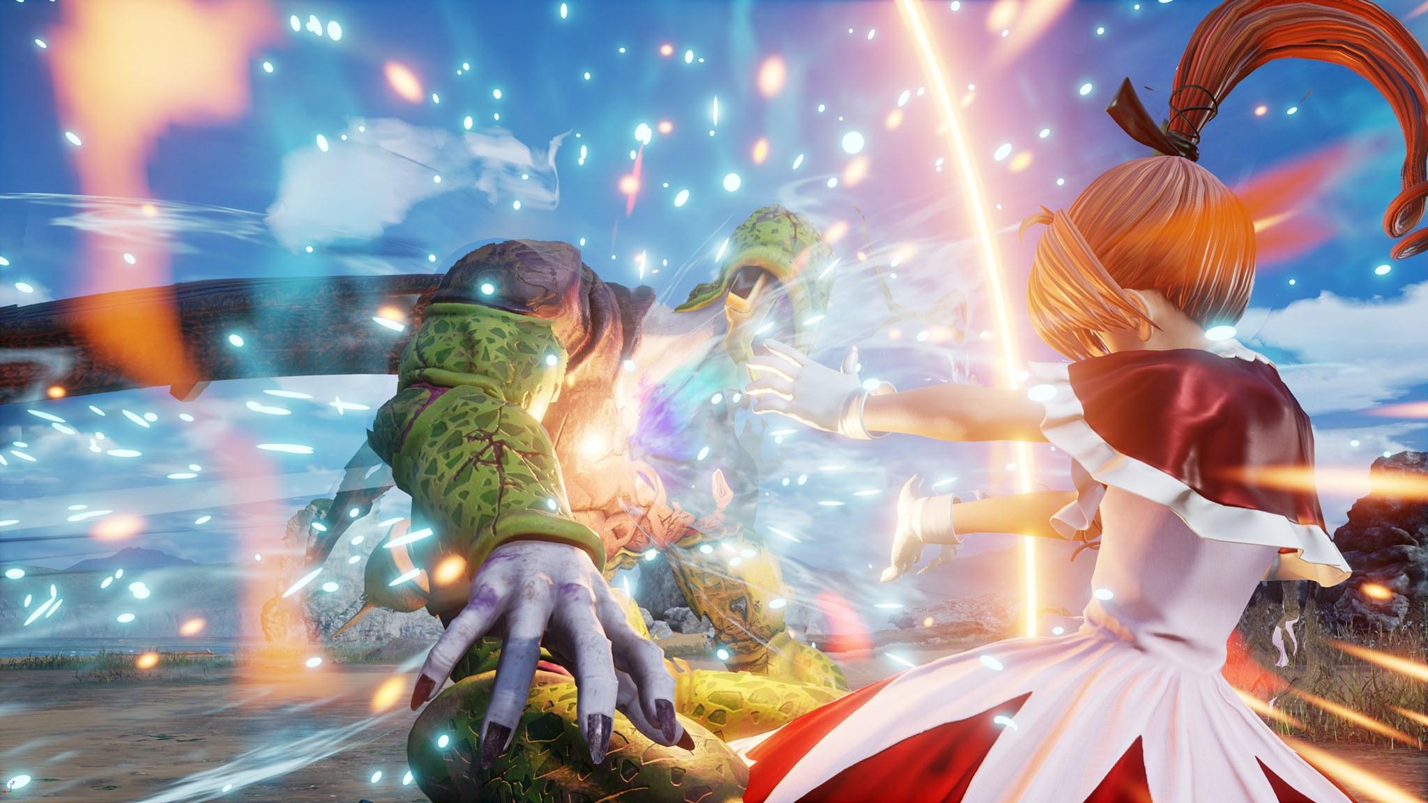 《Jump大乱斗》DLC角色比司吉酷露佳截图展示
