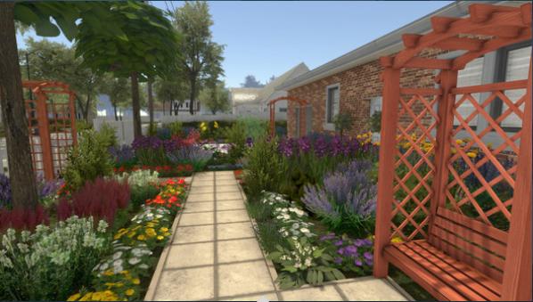 《房产达人》花园DLC发售 玩家可建造独特美丽的花园