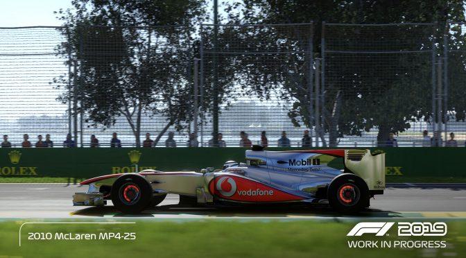 愈加精致《F1 2019》首部官方实机预告片展示