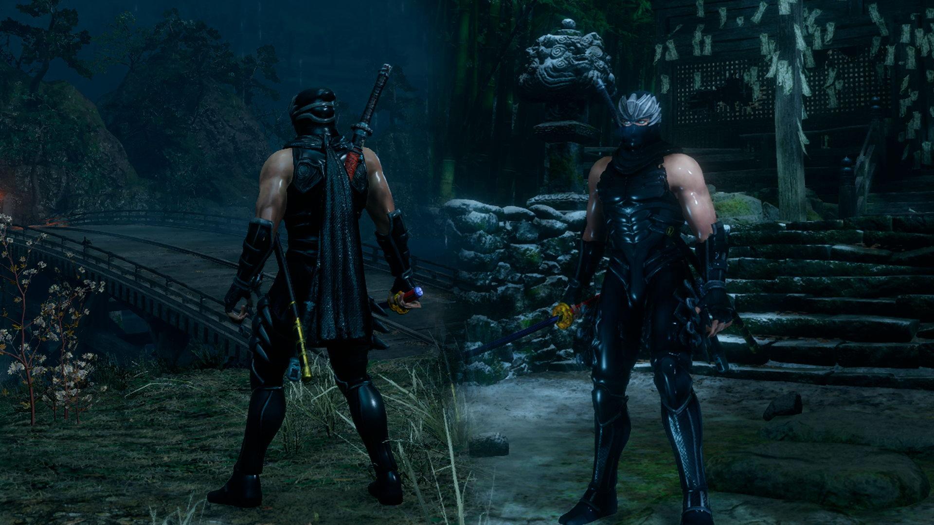 《只狼:影逝二度》新Mod 《忍者龍劍傳》隼龍參戰
