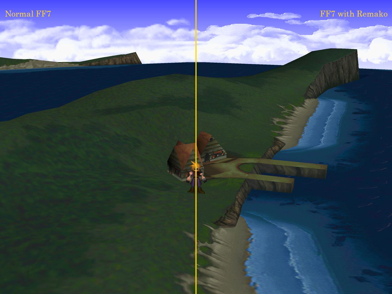 《最终幻想7》高清材质包1.0版 马赛克画面变高清