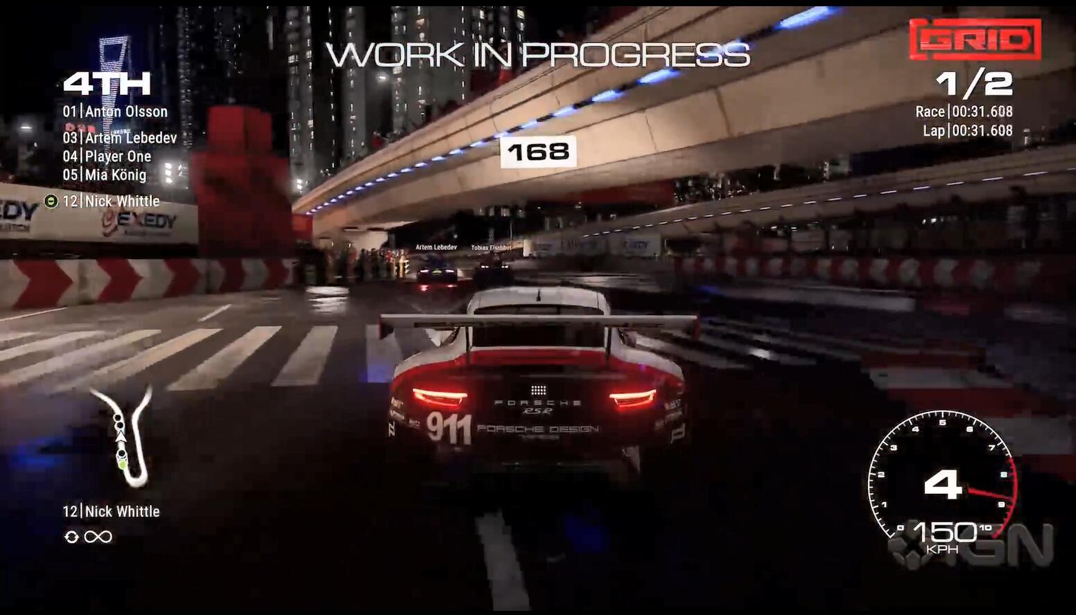 《超级房车赛》曝光实机试玩演示 旧金山上海赛道首秀