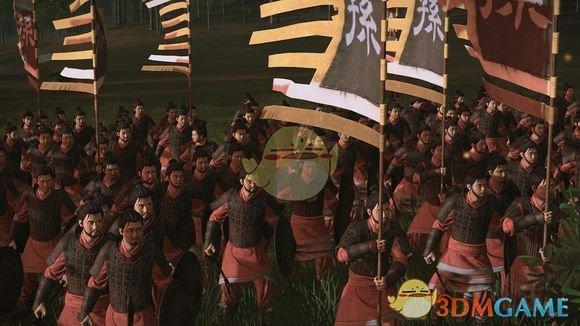 《全面战争:三国》三国无双部队颜色MOD