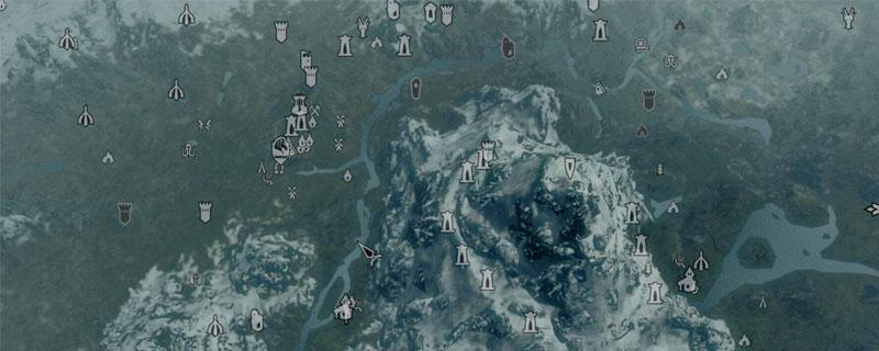 上古卷轴5地图全开代码