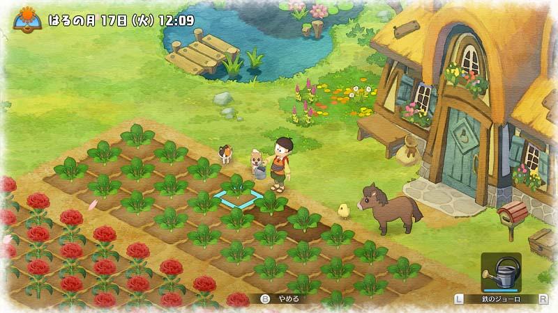 种地养牛其乐无穷NS 《哆啦A梦:牧场物语》 最新农场生活详情