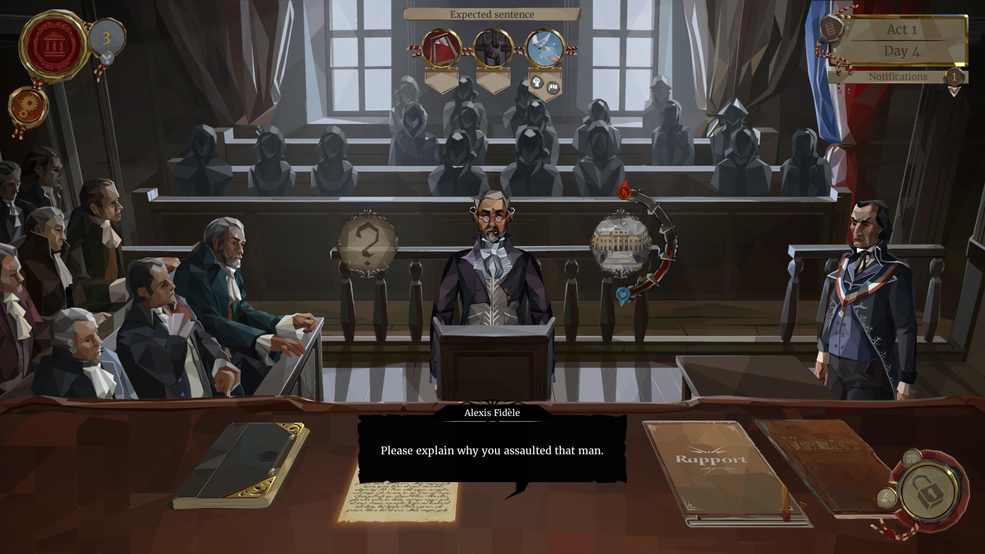 法国法庭游戏《我们,革命》主机版发行日确定