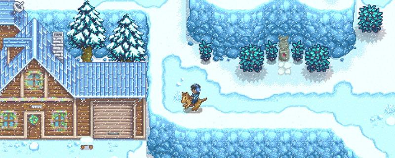 星露谷物语雪山药在哪里