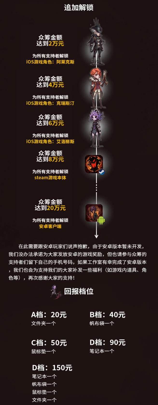 国产动作游戏《异化之地》发起众筹 手游版iOS首发上线