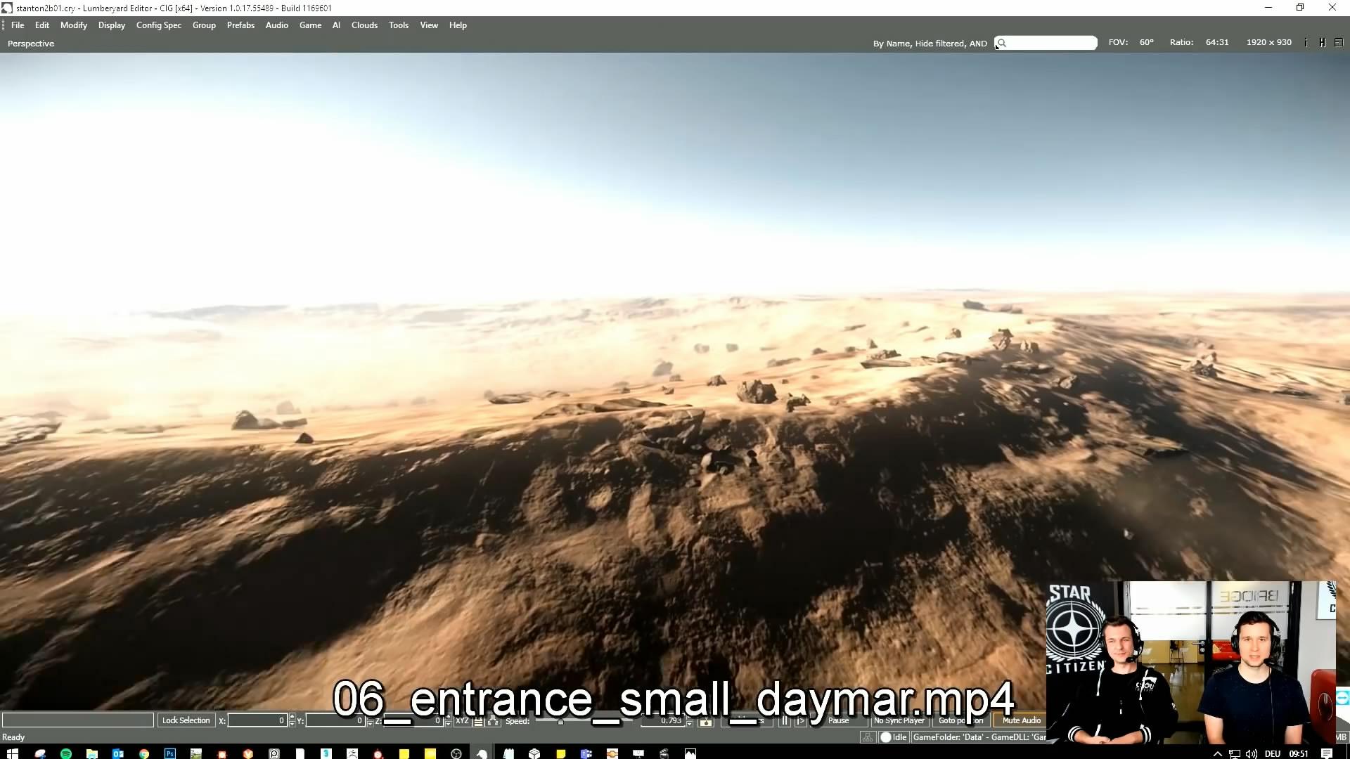 《星际公民》新视频公布 展示玩家定制和星球设计