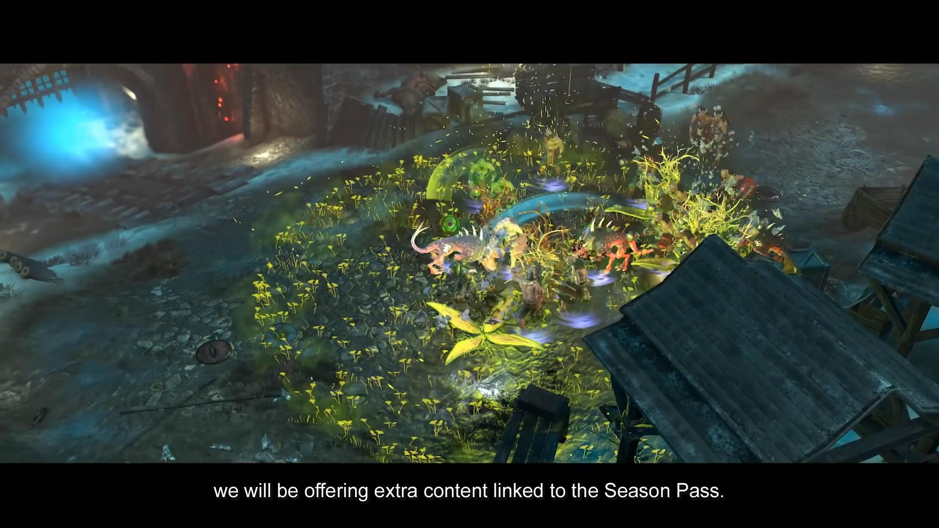 动作游戏《战锤:混沌祸根》新视频 和暗黑很相似