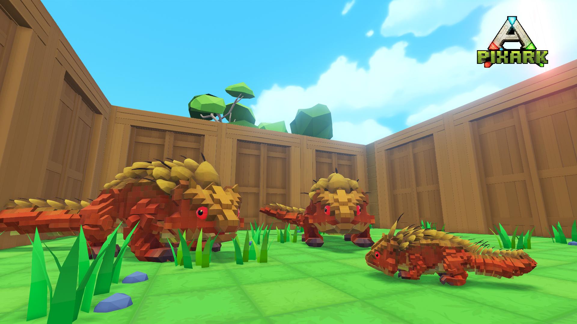 《方块方舟》正式版今日Steam正式发售,同步登陆三大主机平台