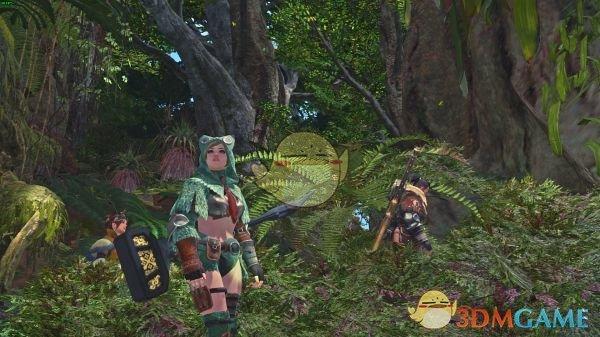 《怪物猎人:世界》清凉毒妖鸟套装MOD