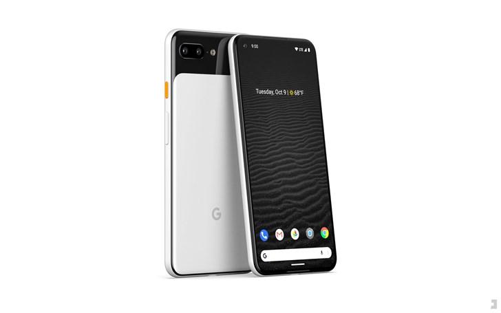 谷歌Pixel 4全新概念图:后置双摄 经典熊猫色