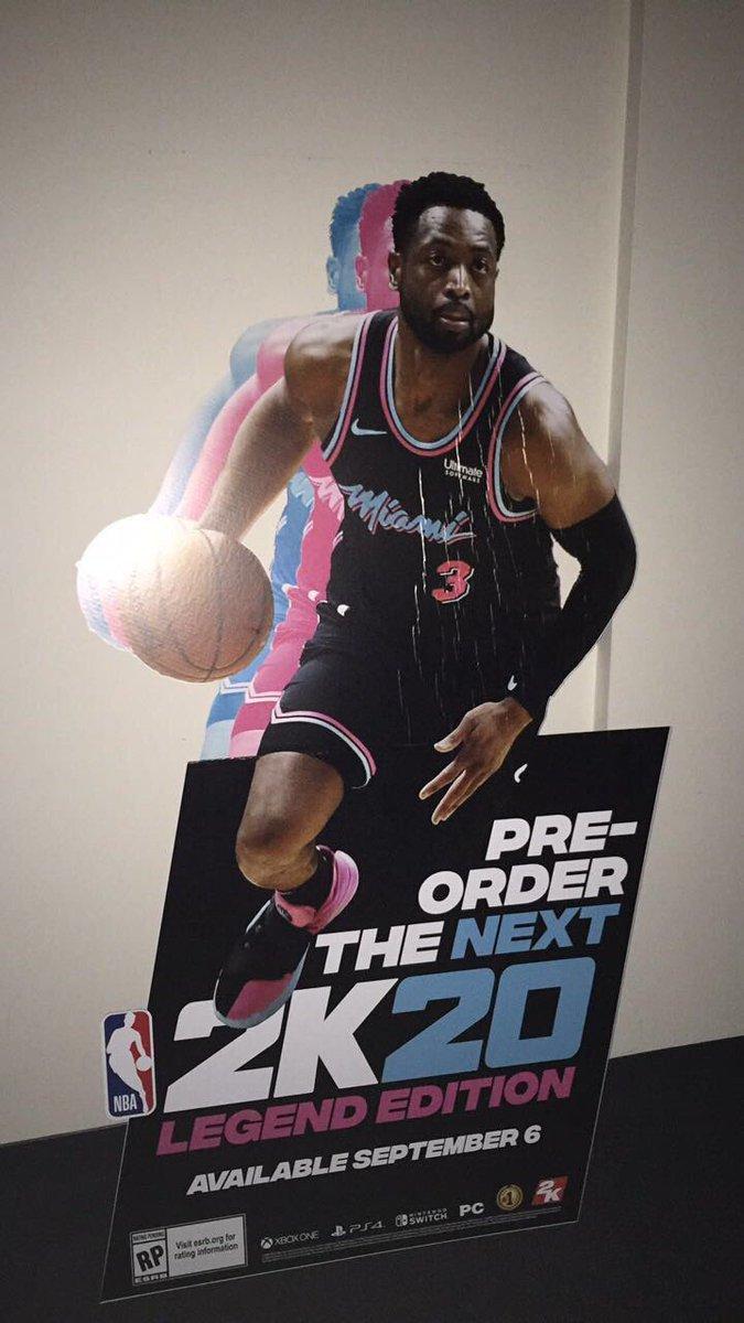 《NBA 2K20》封面泄露? 网传9月6日全平台发售