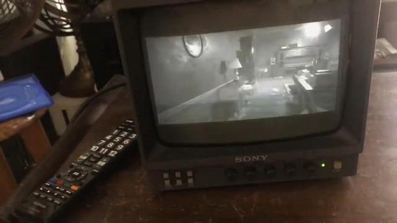 用黑白电视玩《生化危机7》 网友:这才是真恐怖游戏