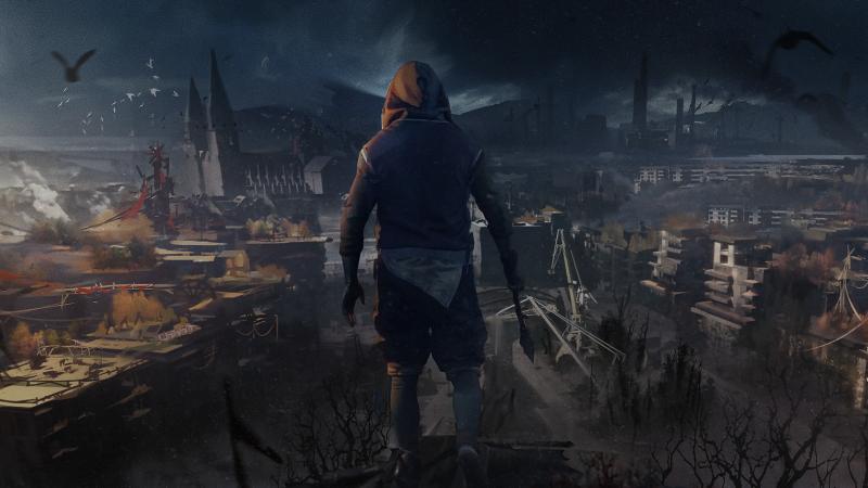 《消逝的光芒2》概念原画曝光 神秘荒凉的开放世界