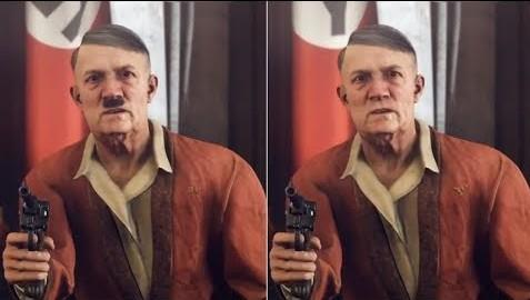 《德军总部:新血液》德国删减版 希特勒胡子都被剃了