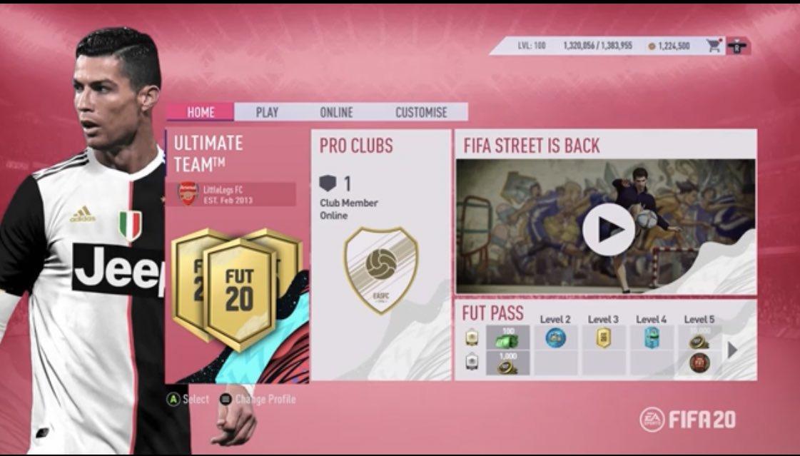 《FIFA20》實機測試界面流出!主打騷粉姆巴佩上位