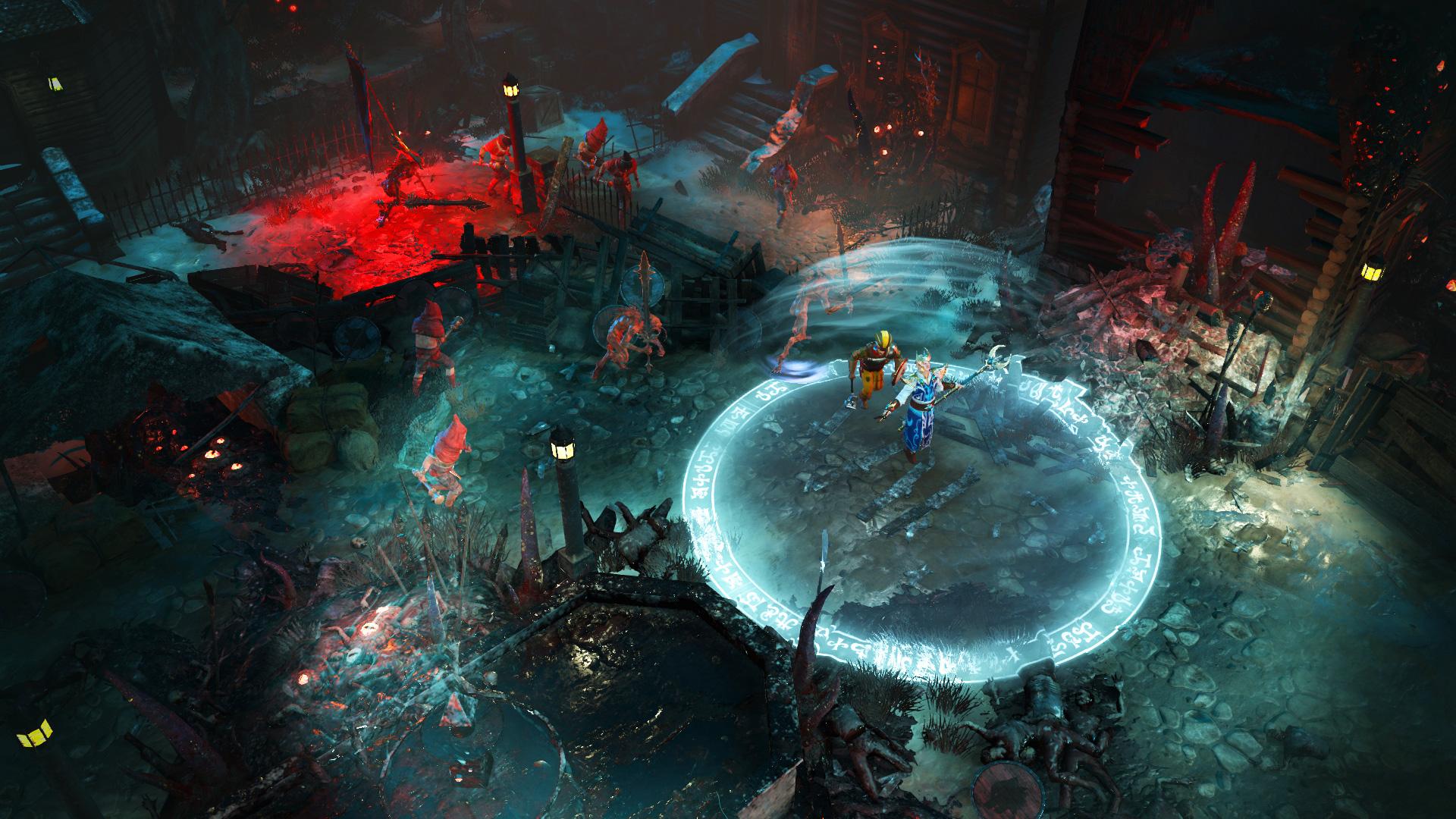《战锤:混沌祸根》木精灵永恒女王套装刷图展示