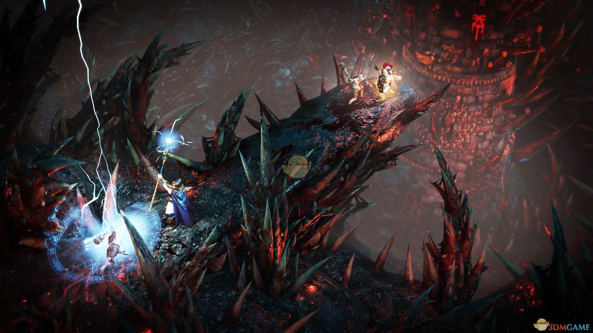 《战锤:混沌祸根》木精灵永恒套装刷图展示