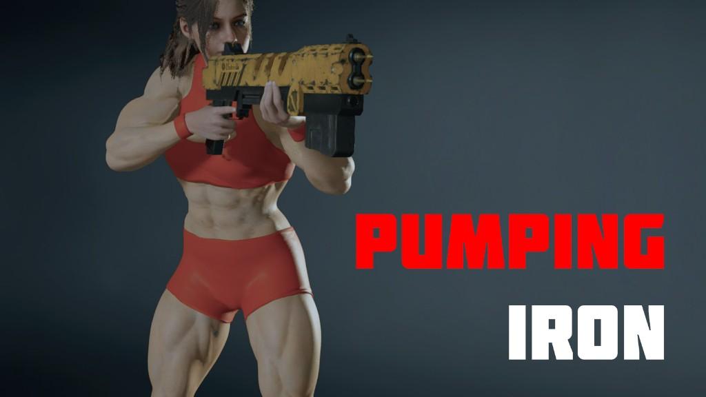 《生化危机2:重制版》 克莱尔Mod 变身肌肉女好强悍