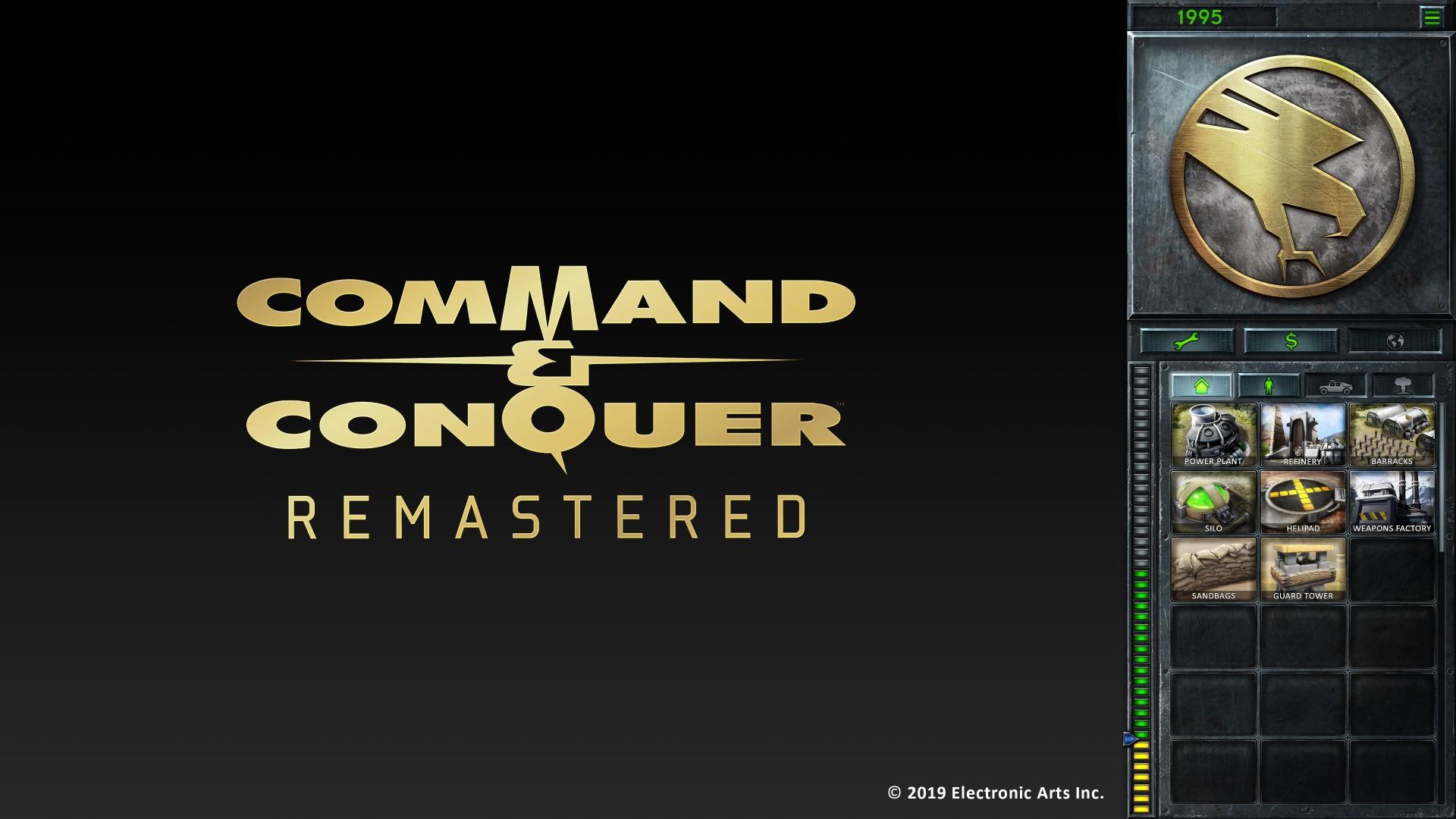 《命令與征服:重制版》側邊欄UI截圖 更清晰直觀
