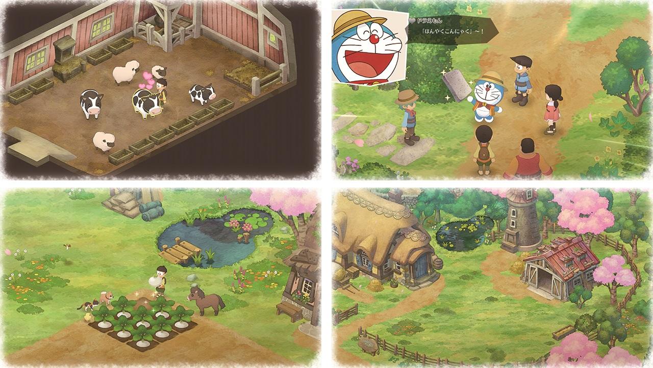 恬靜美少女杉咲花出演《哆啦A夢:大雄的牧場物語》廣告