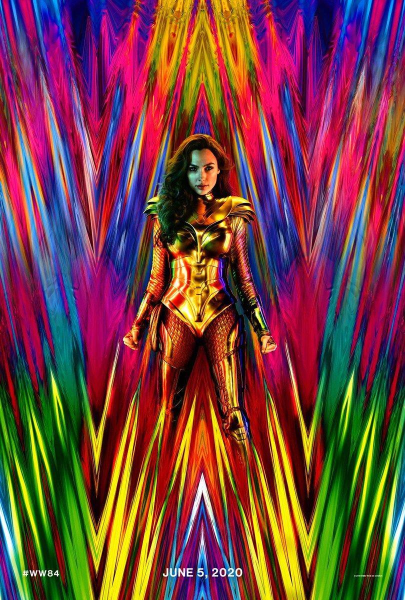 《神奇女俠1984》首張海報 女神變圣斗士美到睜不開眼