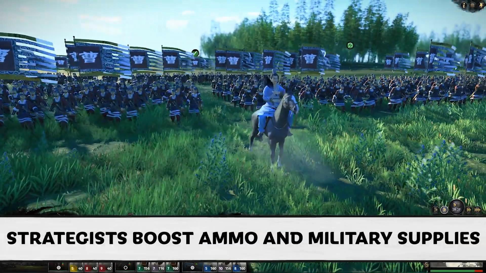 《全面戰爭:三國》新視頻 三大戰斗策略讓你輕松對敵