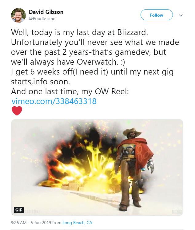 <b>前员工爆料 暴雪取消了一个开发两年的游戏项目</b>
