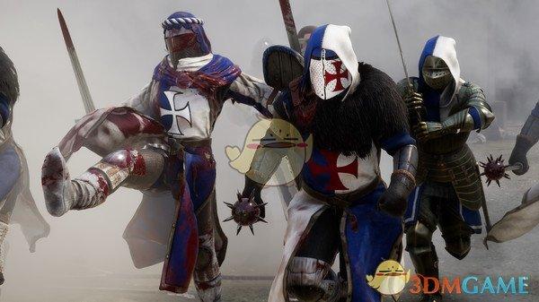 《雷霆一击》长矛打骑兵方法介绍