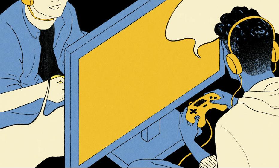 在这个手机成瘾的时代 游戏或许能够增进人们的友谊
