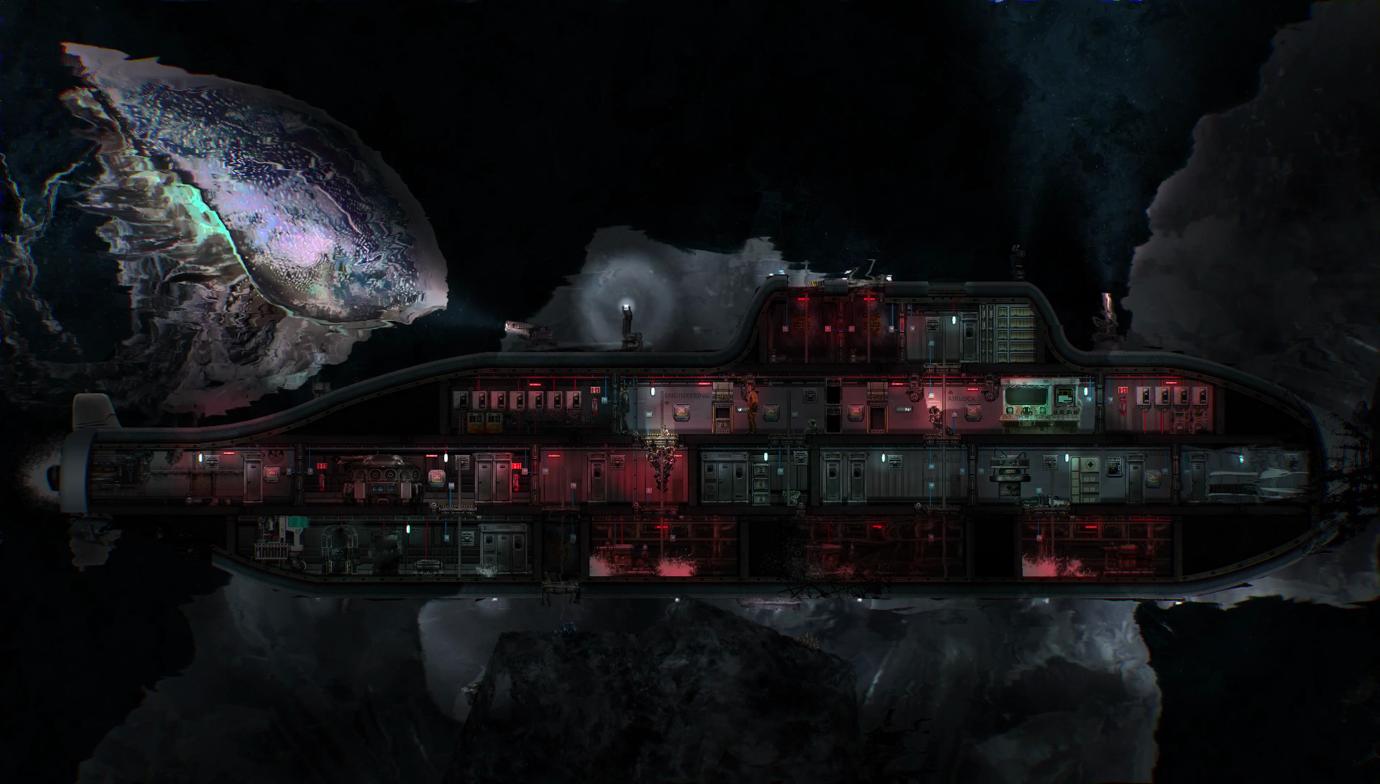 科幻模拟潜艇游戏《潜渊症Barotrauma》现已登陆STEAM