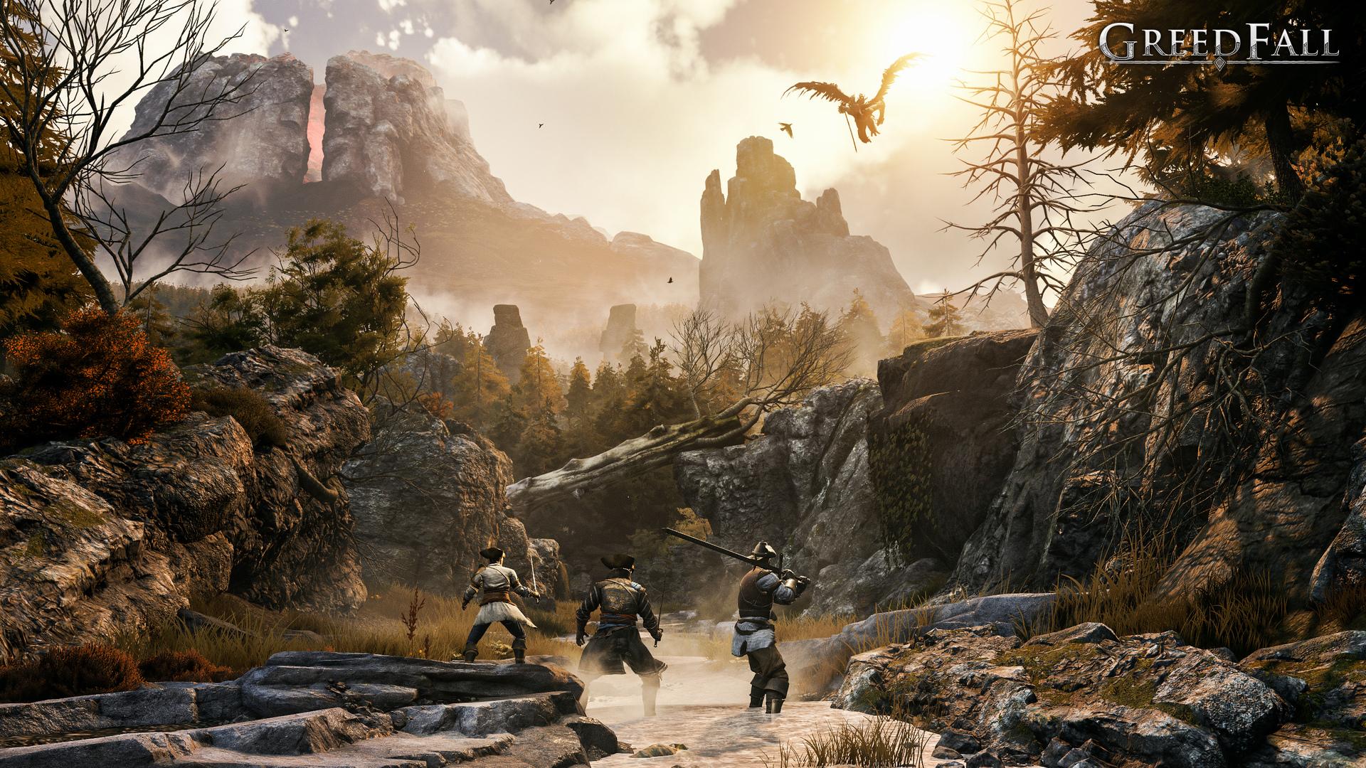《貪婪之秋》E3劇情預告和截圖 2019年10月發售