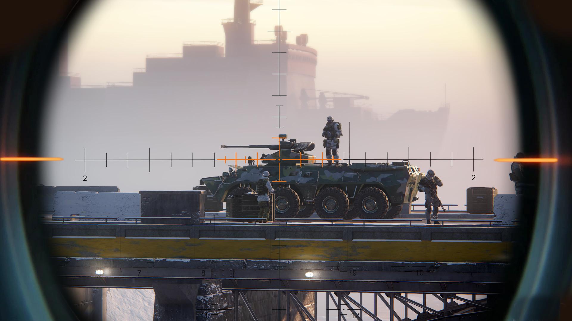 《狙擊手:幽靈戰士契約》上架Steam 確認支持簡中、PC配置公開